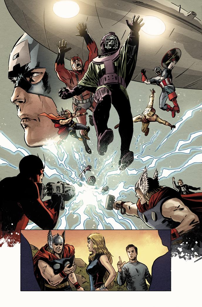 Avengers vs. Atlas no. 3. by dismang