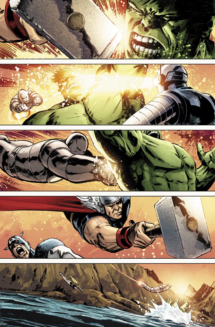 Avengers vs. Atlas no. 3.. by dismang