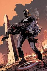 Captain America: Fear Itself Cover