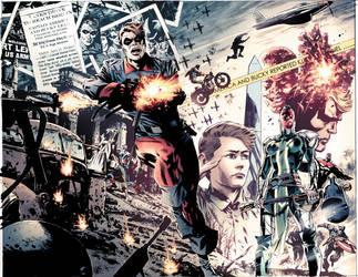 Captain America: Fear Itself Splash by dismang