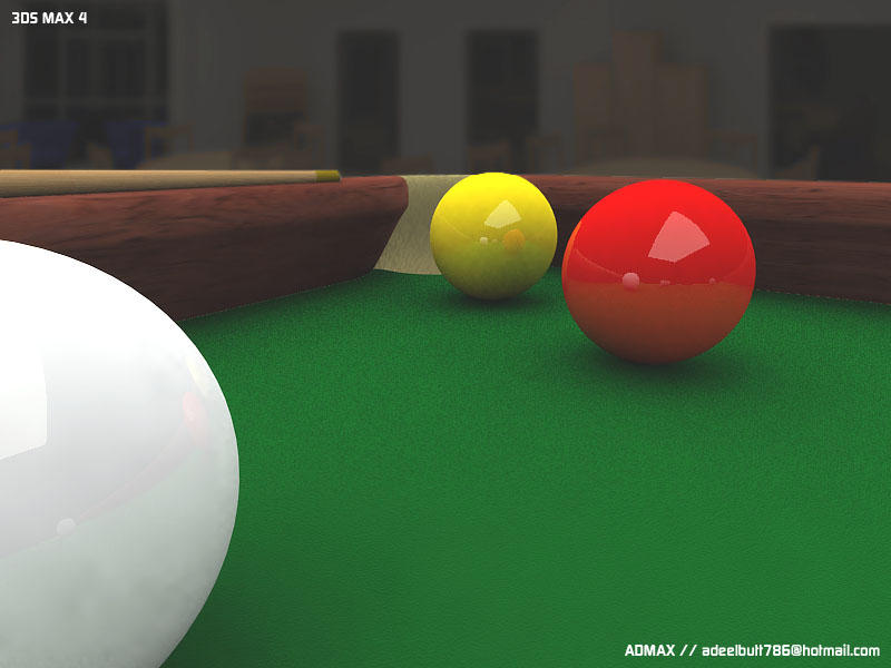 Snooker table 3d by admax on deviantart for 10 snooker table