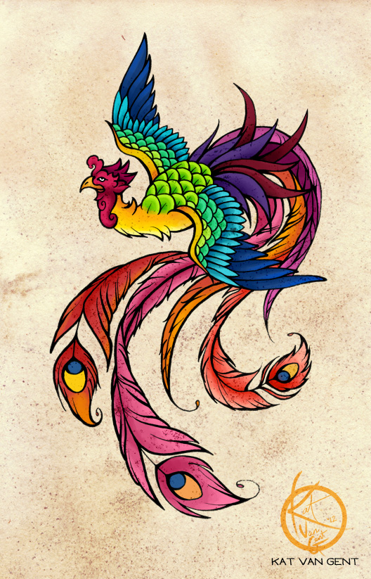 Phoenix Tattoo Design Picture 4