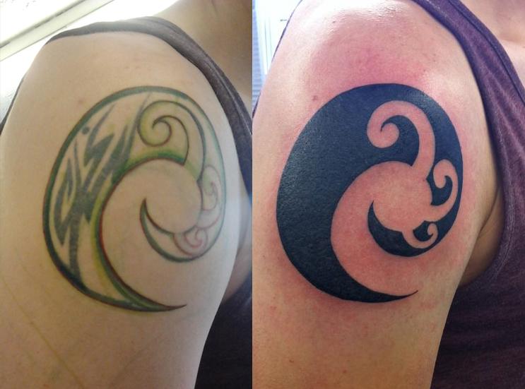Maori Tattoo Cover Up: Tribal Maori Coverup By KatVanGent On DeviantArt
