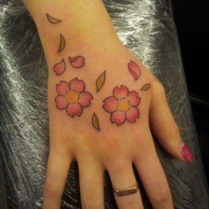 Sakura hand by KatVanGent