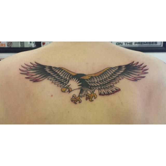 Standard trad eagle by KatVanGent