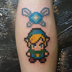 Link pixel tattoo