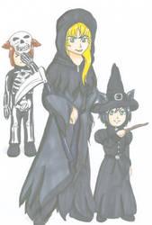 Halloween Request 11 by Azure-wolf96
