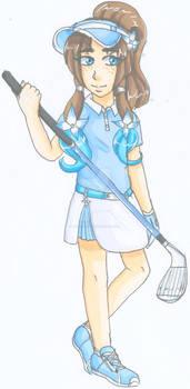 Golfer Lillia