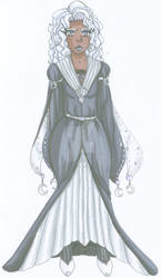 Priscilla Lunarre full body design