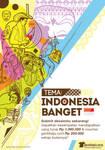 Kompetisi desain kaos  Indonesia Banget