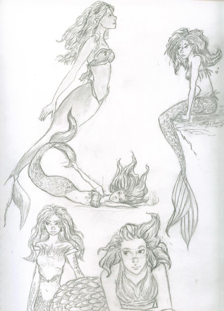 Pretty Mermaid Drawings In Pencil | www.imgkid.com - The