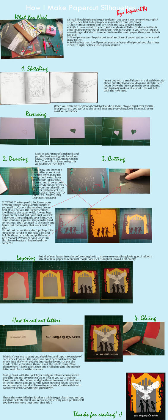 Papercut Silhouette Tutorial by Icepearl14