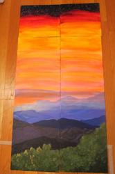 Great Smoky Mountain Sunset