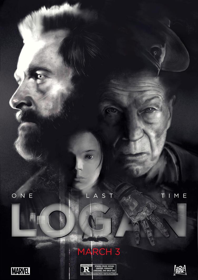 Logan-poster by Klonaris on DeviantArt