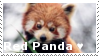 Red Panda - Stamp by Ehlinn