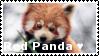 Red Panda - Stamp by Ehlinn