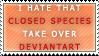 Closed Species - Stamp by Ehlinn