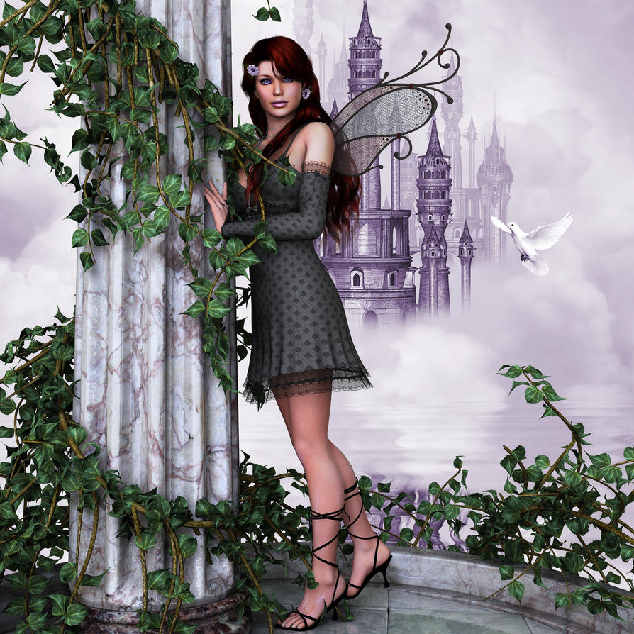 Violet by anitalee