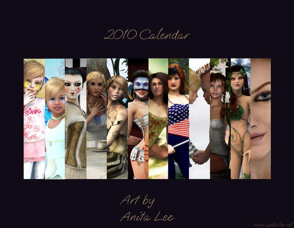 2010 Calendar by anitalee