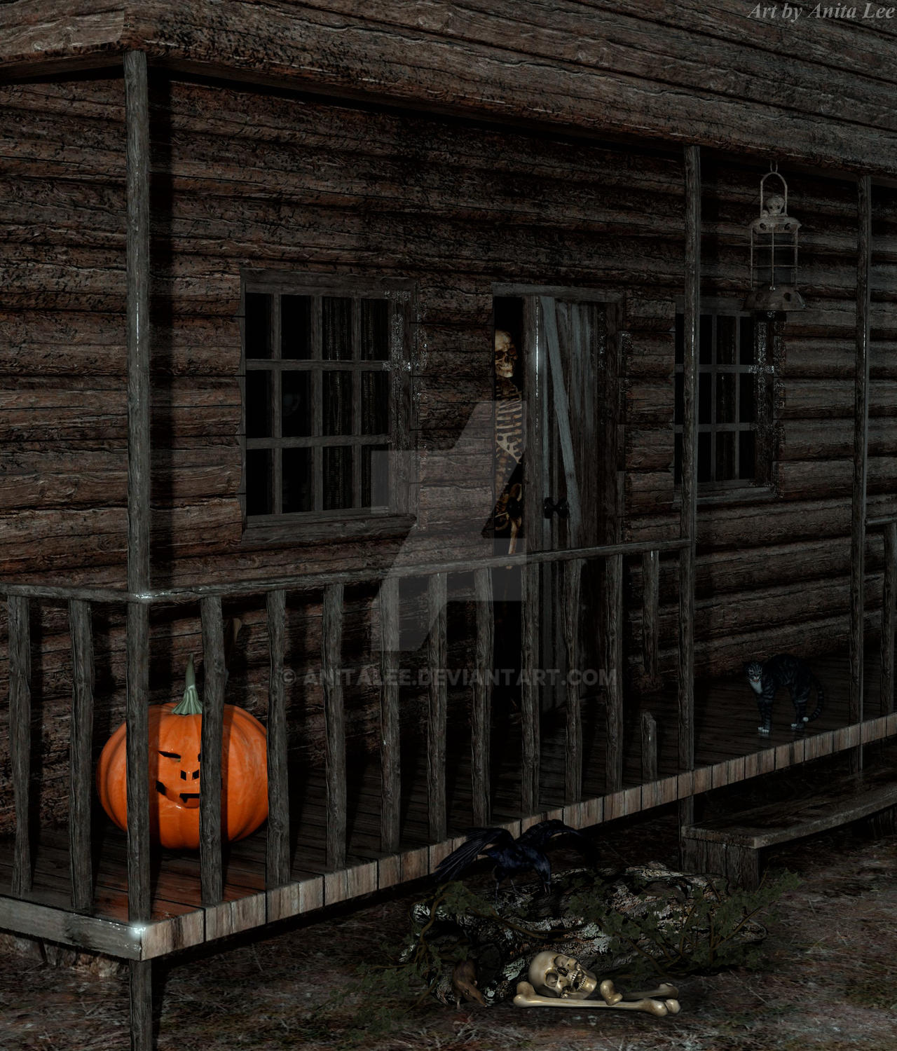 TheCabin-AnitaLee2018 by anitalee