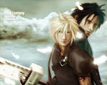 Zack Fair and Cloud
