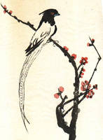 Chinese rice paper dwg: by dorrie84