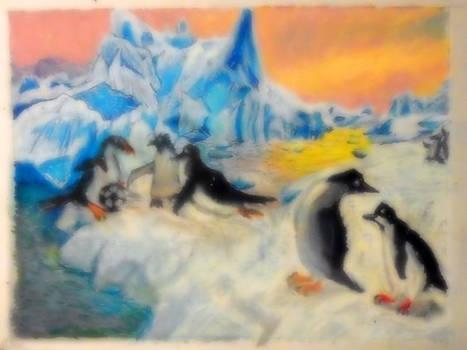 Penguins-pastel