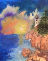 Acadia-acrylic-web by matthornb