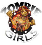 OFFICIAL ZOMBIE GIRL LOGO