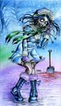 Zombie Inuit Girl