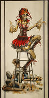 Zombie Beer Girl -FULL-SIZE-