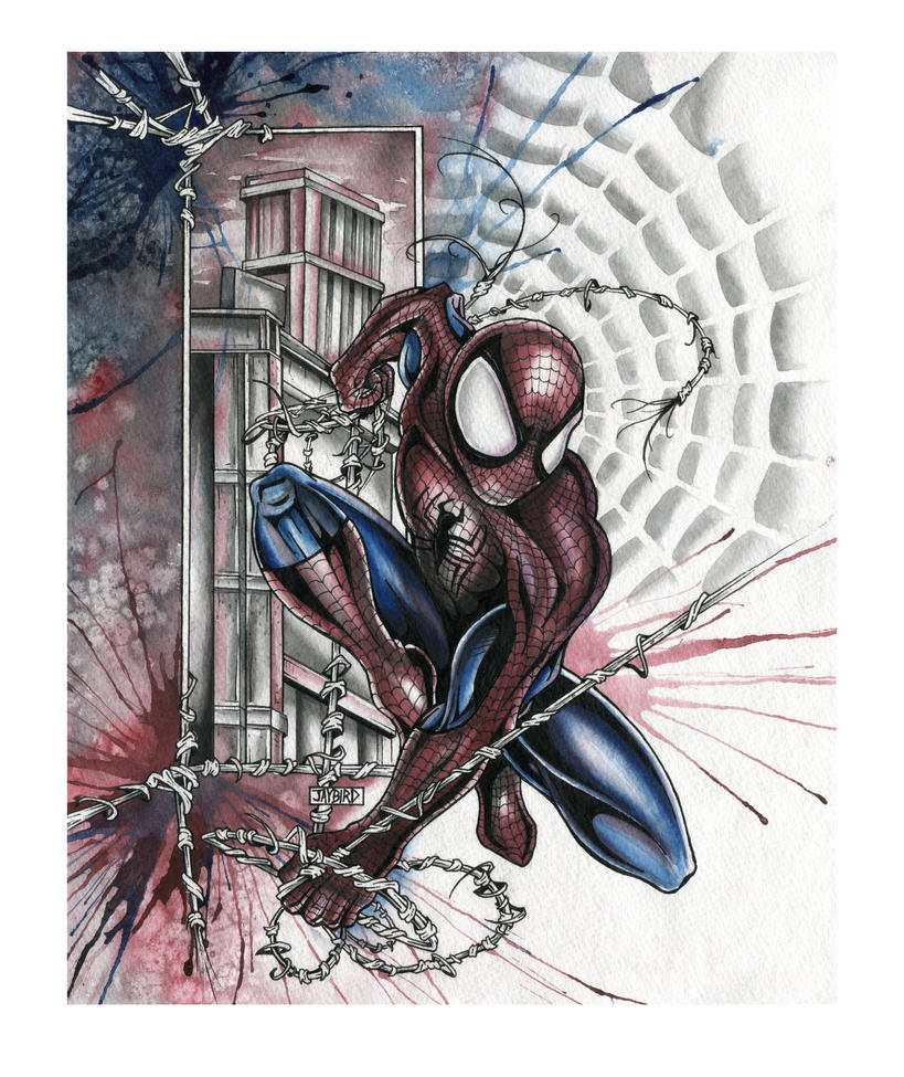 SPIDER-MAN by Jay-Allen-Hansen