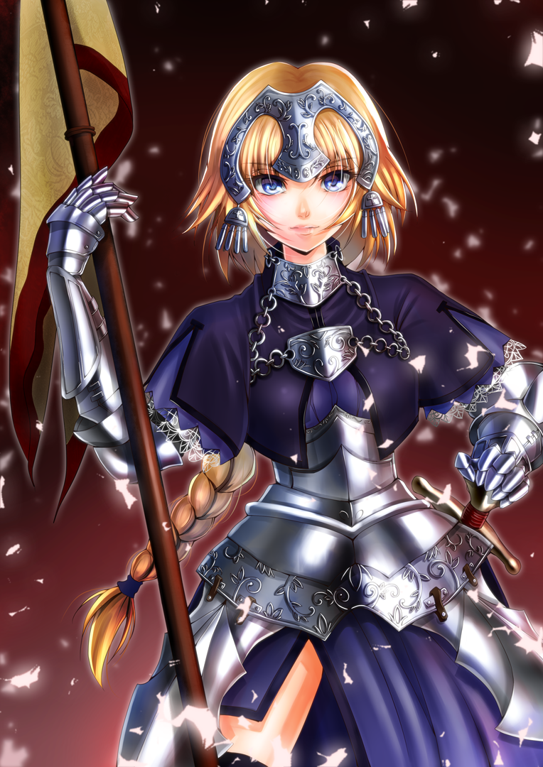 Fate joan of arc by amayofoo on deviantart