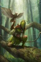jungler elf by zix72