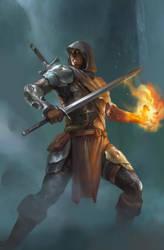 battle mage by zix72