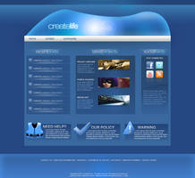 Website Template by KustomzGraphics