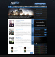 FragStar Clan site by KustomzGraphics