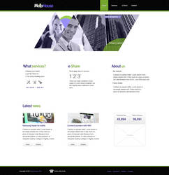 MojoHouse Template by KustomzGraphics