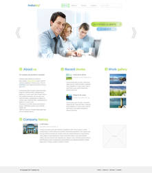 Industry Business Template by KustomzGraphics
