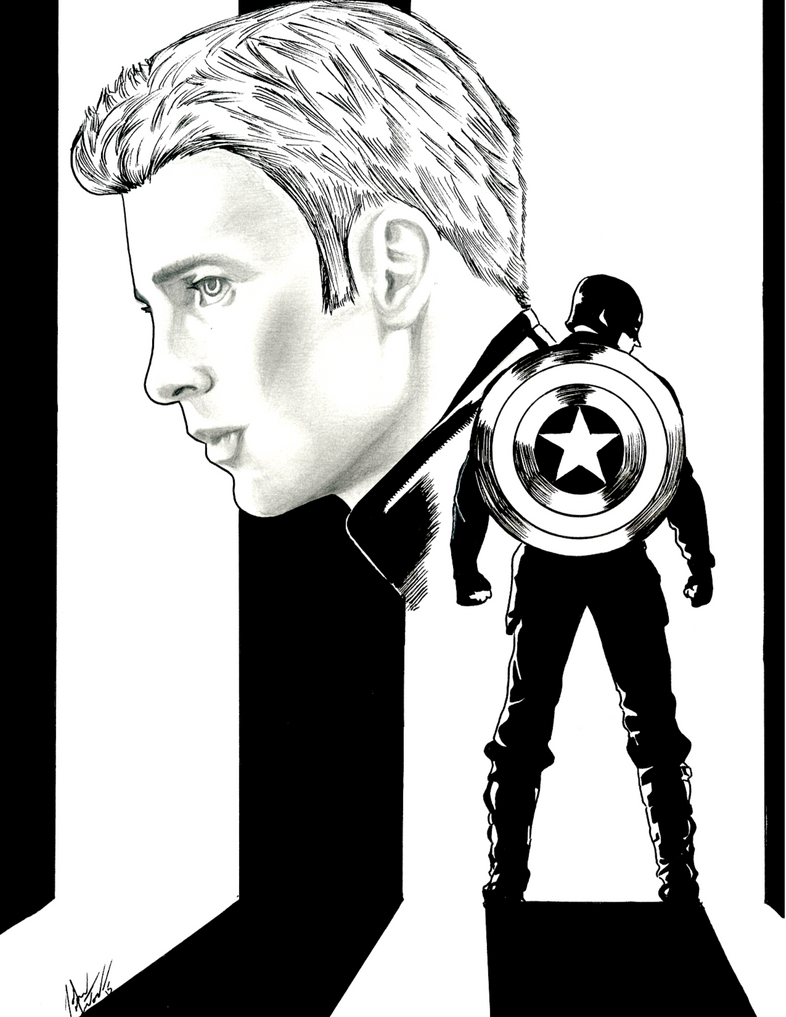 Captain America by nortonman