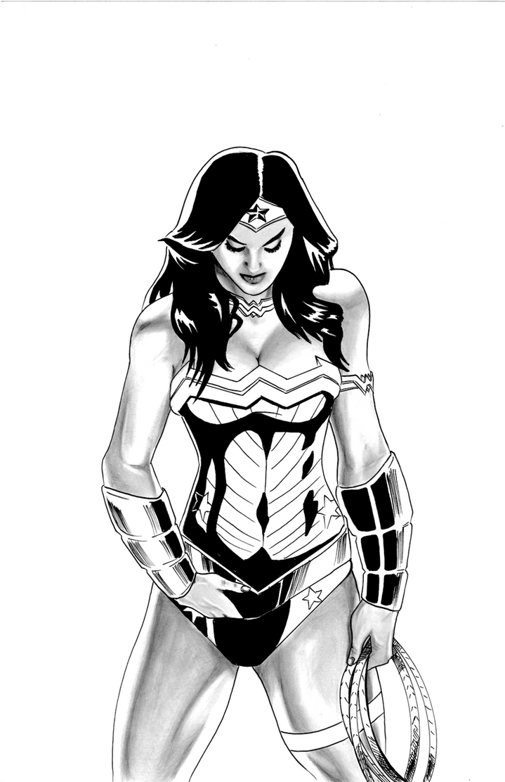 Wonder Woman by nortonman