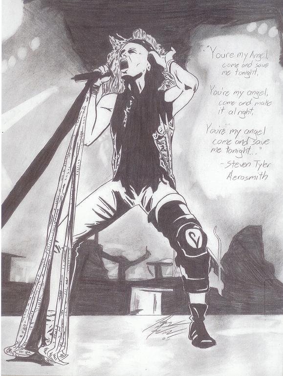 Aerosmith by nortonman