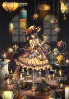 Lantern Shop by nicetsukichi