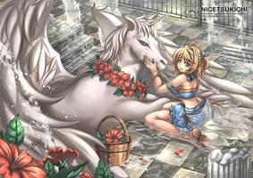 Pegasus by nicetsukichi