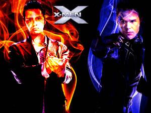 X-MEN - PYRO VS ICEMAN 02