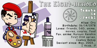The eight-headed DA ID by the8headed