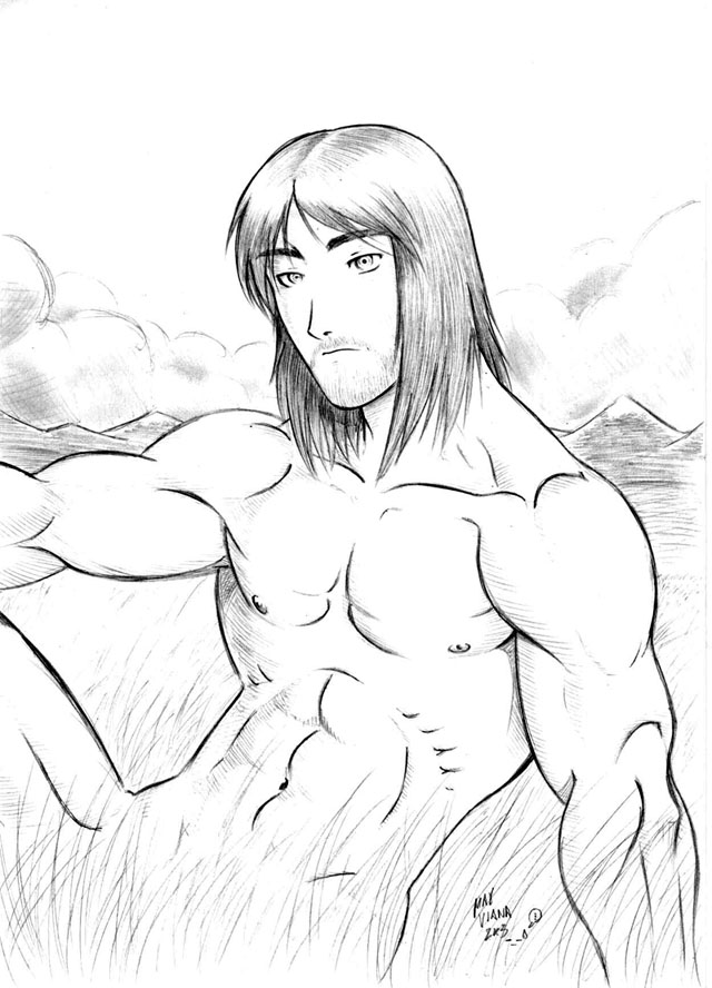 Garrison - Male Nudity -_-' by the8headed