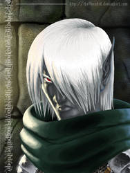 Agon, the one-eyed drow by the8headed