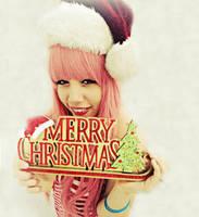 Merry Christmas! -Luka Megurine by ElleKio
