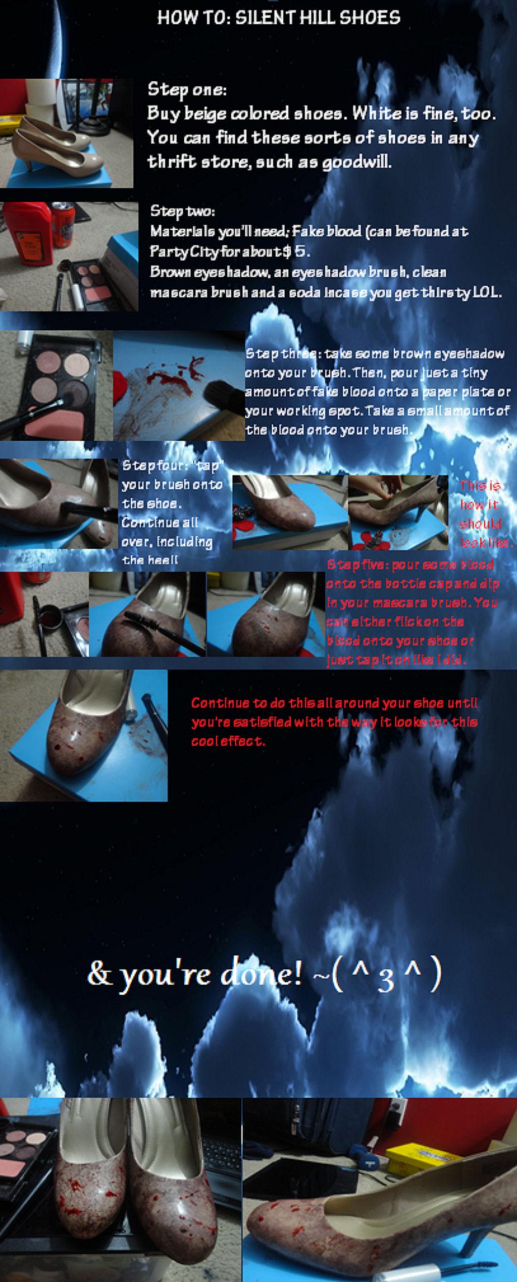 Tutorial: Silent Hill Nurse Shoes